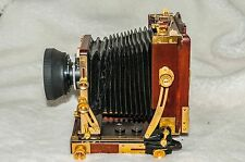 Osaka Cherry Wood 4 x 5 Field View Camera  120mm Osaka/Seiko Lens -Price reduced
