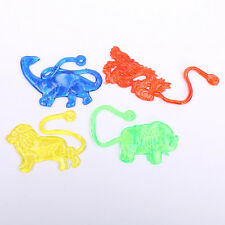 2Pc Soft Plastic Sticky Snapper Animal Toys Children Kids Baby Funny Toys Gifts