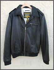 Superdry Winter Premium Benjamin Bomber Jacket Black  2XLarge  NWT MSRP/$478