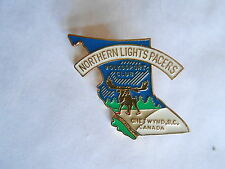 Vintage Volkssport Club Northern Lights Pacers Chetwynd BC Canada Pin Pinback