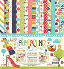 PLAYGROUND Boy Girl 12x12 Collection Kit Scrapbook Kid Toddler ECHO PARK Paper