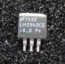 TI National 9V/1A Regulator LM2940CS-9.0, TO-263, Qty.10