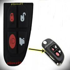 4 Button RUBBER PAD Key Remote Fob for Jaguar X S E F TYPE XJ XK XF XKR Sport