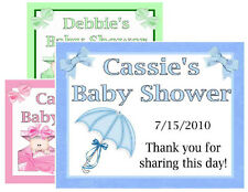 15 BABY SHOWER MAGNETS FAVORS PERSONALIZED