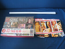 One Direction This Is Us Japan Limited Blu-ray DVD Box with Award T-Shirt Poster