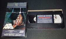 Star Wars VHS RARE Video Rental Library 1st Original 1982 FOX Matching Serial #