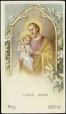 """santino-holy card"""""""" ediz. AR n.Z/175 S.GIUSEPPE"""