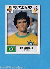 SPAGNA 82 ESPANA- PANINI -Figurina n.381- ZE SERGIO -BRASILE-Recuperata