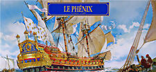 PLASTIC MODEL SHIP LE PHENIX 1/600 HELLER 80131