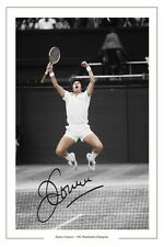 JIMMY CONNORS 1982 WIMBLEDON TENNIS AUTOGRAPH SIGNED PRINT