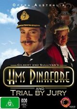 H.M.S. Pinafore / Trial By Jury [ DVD ] Region 4, Like New, Free Post...7059