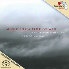 Music for a Time of War - featuring The Oregon Symphony & Carlos Kalmar, New Mus