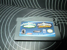Power Rangers Time Force / Ninja Storm Double Pack  (Nintendo Game Boy...