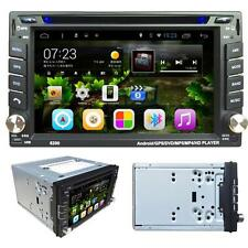 Android 4.4 6.2 2Din InDash Car DVD Radio Stereo Player BT WiFi 3G GPS+CAMERA UK