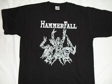 HAMMERFALL - HEAVY METAL - ORIGINAL BLACK T-SHIRT Size L