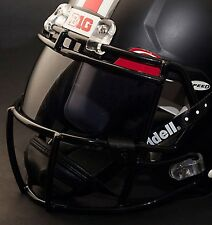 *CUSTOM* OHIO STATE BUCKEYES NCAA OAKLEY Football Helmet EYE SHIELD / VISOR