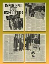 Madeiros Sacco Vanzetti Electric Chair Innocent Man Executed Old Article