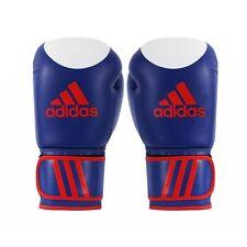 Adidas kick-guantes de boxeo kspeed 200 azul. 12oz/14oz/16oz. wako aprobado cuero.