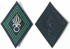 Losange / écusson pour Ténue Uniforme de Sous-Officiers CAVALERIE 1°REC LÉGION