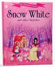 Snow White and Other Fairytales (3-in-1 Fairytale Treasuries) Printed HC Illust
