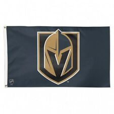NHL Vegas Golden Knights Wincraft 3' X 5' Deluxe Flag w/ Metal Grommets NEW!