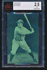 1926 Exhibits LOU GEHRIG Postcard Back #8 HOF BVG 2.5
