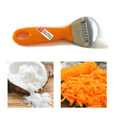 COCONUT GRATER THAI STAINLESS STEEL SHREDDER SCRAPER HAND HELD CARROT PAPAYA