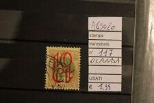 STAMPS FRANCOBOLLI OLANDA USATI N. 117 (A69020)