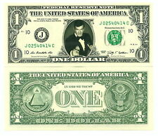 JAMES BOND / ROGER MOORE VRAI BILLET DOLLAR US ! Collection 007 Acteur Hollywood