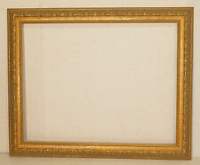 Large Modern Embossed Border Gilded Gallery Frame  28 x 22