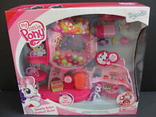 NEW My Little PONY Ponyville Sweetie Belle's Gumball House Home Wig Figure NIB