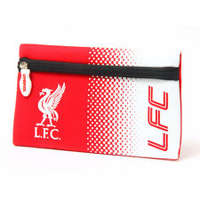 LIVERPOOL FC LFC FADE SCHOOL PENCIL CASE COVER FLAT NEOPRENE NEW GIFT XMAS