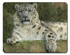 Beautiful Snow Leopard Computer Mouse Mat Christmas Gift Idea, AT-47M