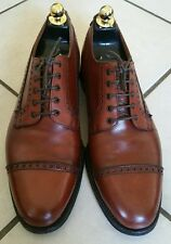 212- Derby à lacets marron Crockett & Jones 8/42 excellent état