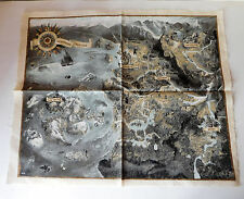 The Witcher 3: Wild Hunt Collectors Edition Cloth Map