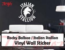 Rocky Balboa Italian Stallion Custom Wall Vinyl Sticker