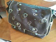 Large Bubbles Baby Diaper Bag Tote Mom Changing Pad Bottle Holder