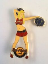 Hard Rock Cafe Pin London Cheerleader Girl with Pom-Poms 2013