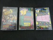 VIDEO HITS RARE AUSSIE TRIPLE CASSETTE TAPE SET! BROS POISON CHOIRBOYS KYLIE