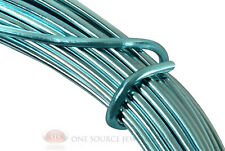 39 Ft. Ice Blue Aluminum Craft Wire 12 Gauge Jewelry Making Beading Wrapping