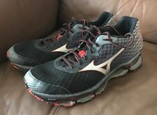 Mizuno Wave Prophecy 4 Men Black Red Running Shoes 9473 Size 9.5 New!