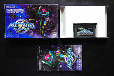 METROID FUSION Nintendo GAME BOY ADVANCE GBA JAPAN Good/Used Condition !