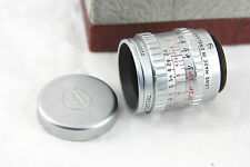"Taylor Hobson 0.7"" inch f2.5 Lens C Mount, for 16mm/Bolex/micro 4/3 digital,box"