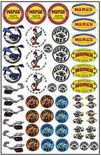 1/64, 1/87 - DECALS FOR HOT WHEELS, MATCHBOX, SLOT CAR: VINTAGE MOPAR LOGOS