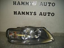 AUDI A6 RH HALOGEN HEADLIGHT 05 06 07 08 2005 2006 2007 2008   USED