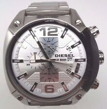Diesel DZ4203 Chronograph Stainless Steel White Dial Watch Men's