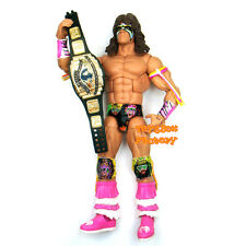 WWE WWF ELITE Ultimate Warrior with Belt Wrestling Action Figure Kid Child Toy