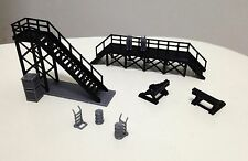 Outland Models Train Locomotive Maintenance Platform & Accessories HO OO Scale