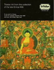 VERY RARE - PHILLIPS TIBET NEPAL THAI BURMA BUDDHA Art Auction Catalog 1997