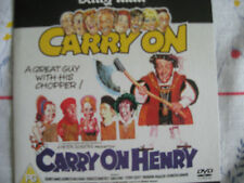 NEW CARRY ON HENRY DVD DAILY MAIL CARRY ON COMEDY DVD: 2 SIDNEY JAMES WILLIAMS
